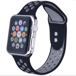 Silicone Breathable Sport Band For Apple Watch